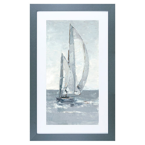 Grey Seas II - Framed Art