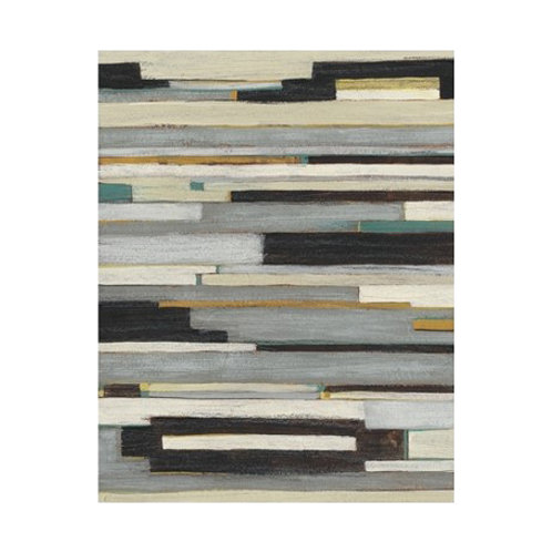 Textile Ratio I - Canvas Art