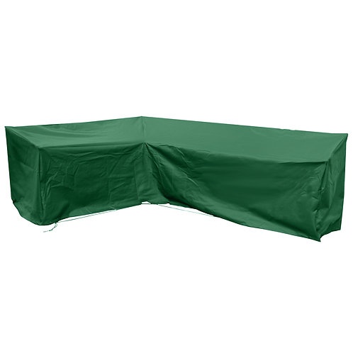 Extra Large Modular L Shape Sofa Cover in Green