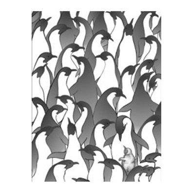 Penguin Family I - Canvas Art