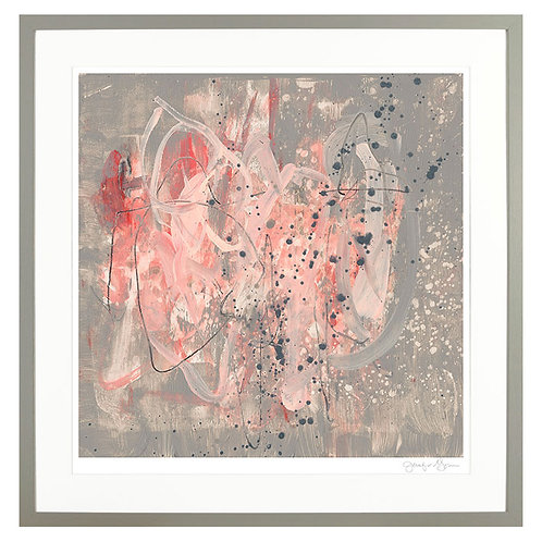 Blush Kinesis II - Framed Art
