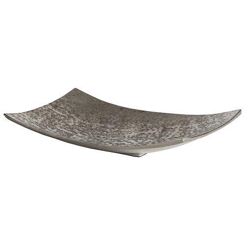 Echota Rectangular Bowl - Silver
