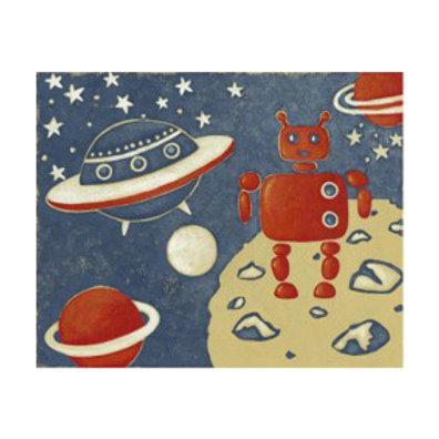 Space Explorer II - Canvas Art