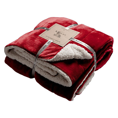 Eastender Throw - Red