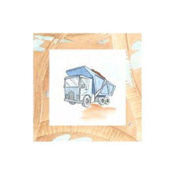 Charlie's Dumptruck- Canvas Art