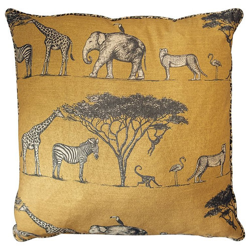 Kenya Cushion Ochre