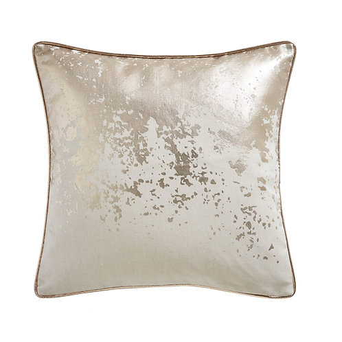 Splatter Foil Print Cushion