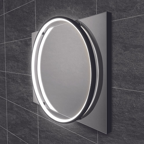 Solas Bathroom Mirror - Black Frame