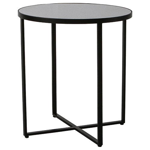 Black Florence Side Table