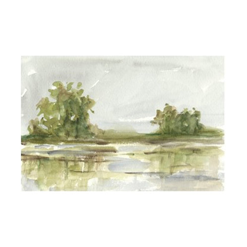 Muted Watercolour I - Canvas Art