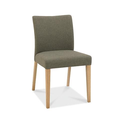 Bergen Oak Upholstered  Chair (Pair)