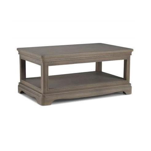 Coffee Table With Shelves - Colmar Oak - Living / Dining