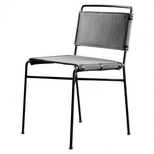 Crusade Dining Chair Grey (2 pack)