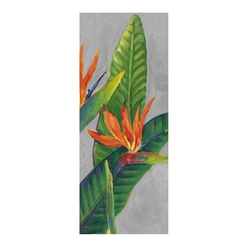 Birds of Paradise Triptych III - Canvas Art