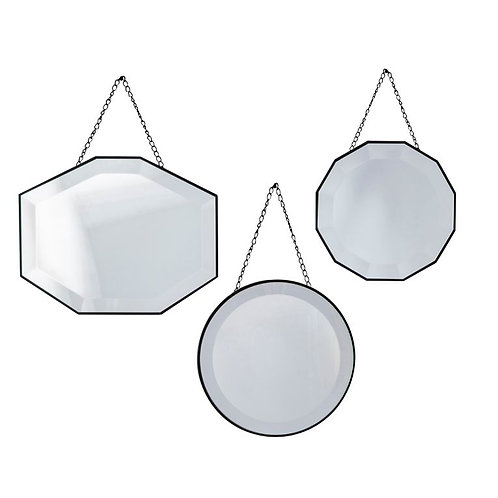 Caines Set of 3 Mirrors
