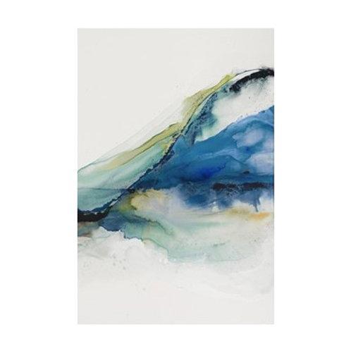 Abstract Terrain IV - Canvas Art
