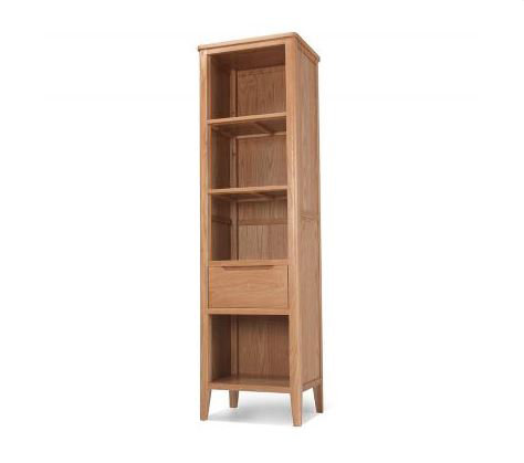 Osby Oak - Slim Bookcase