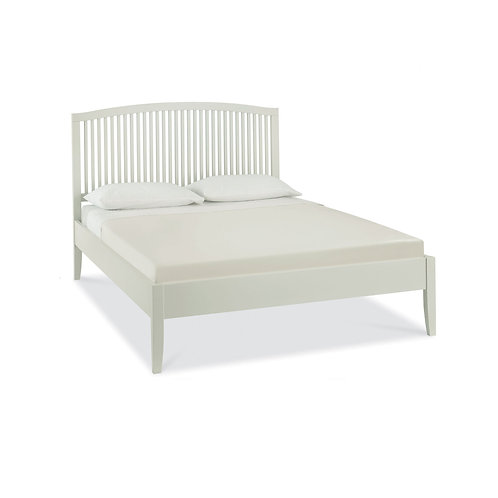 Ashby Soft Grey Slatted Bedstead - King 150 cm