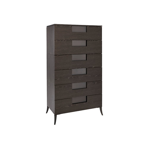 Fitzroy Six Drawer Wide Chest