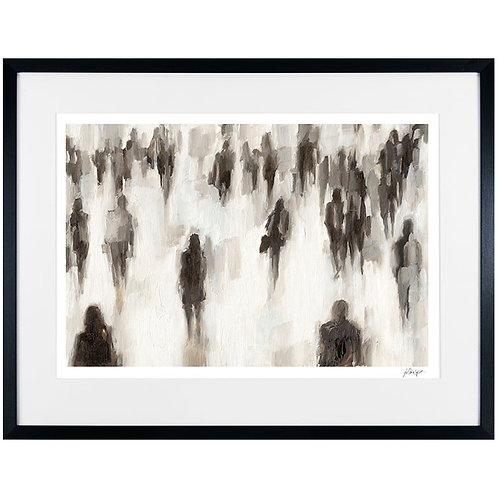 Commuters II - Framed Art