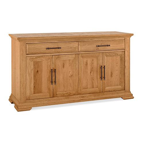 Belgrave Rustic Oak Wide Sideboard