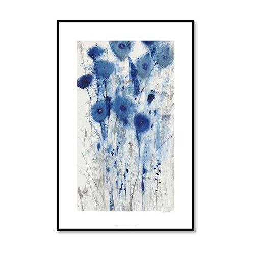 Blue Impression II - Framed & Mounted