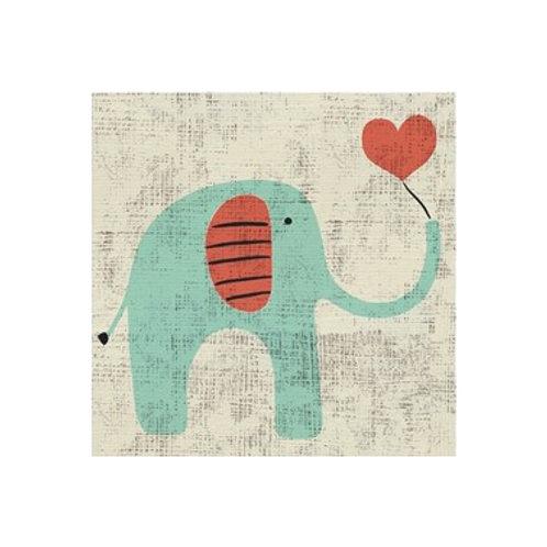 Ada's Elephant- Canvas Art