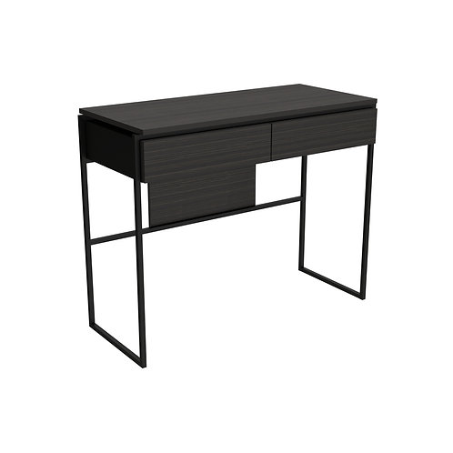 Federico Dressing Table in Matt Black Frame