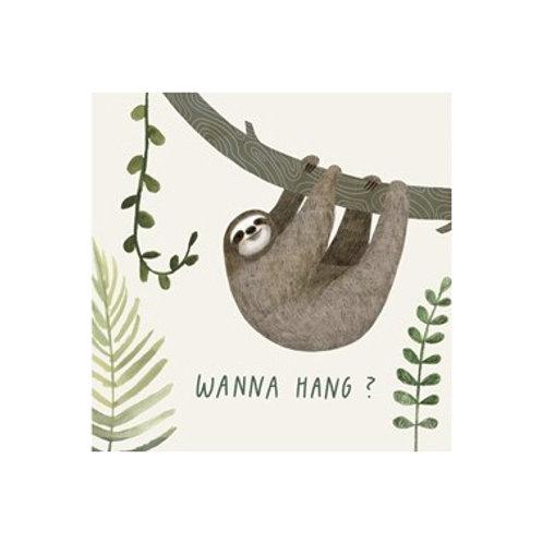 Sloth Sayings I - Canvas Art