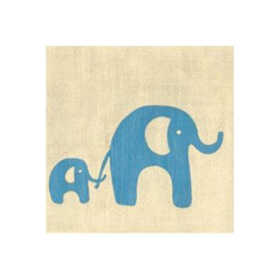 Best Friends- Elephants - Canvas Art