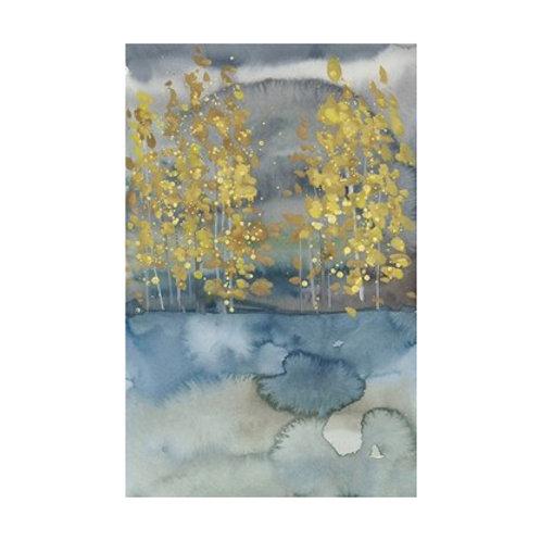 Golden Trees I - Canvas Art