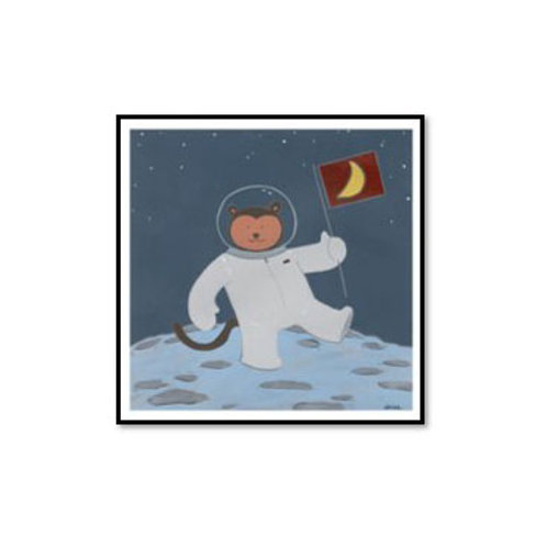 Monkeys in Space III - Framed & Mounted Art