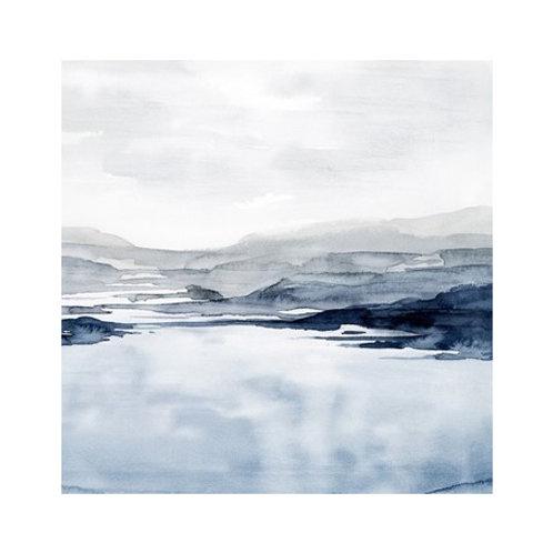 Faded Horizon II - Canvas Art
