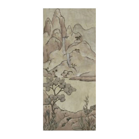Chinoiserie Landscape II - Canvas Art