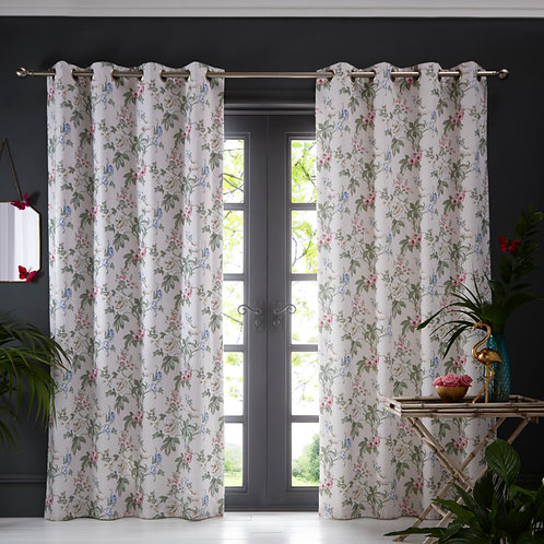 Bailey Blush Curtains