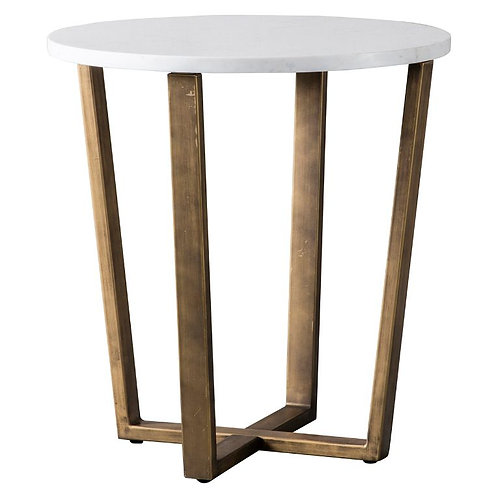 Cleopatra Side Table Marble