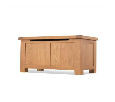 Burnham Oak - Blanket Box
