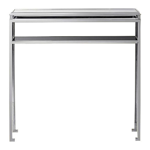 Calabria Console Table in Sivler