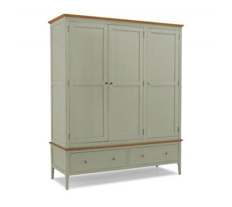 Sedona Painted - Triple Wardrobe