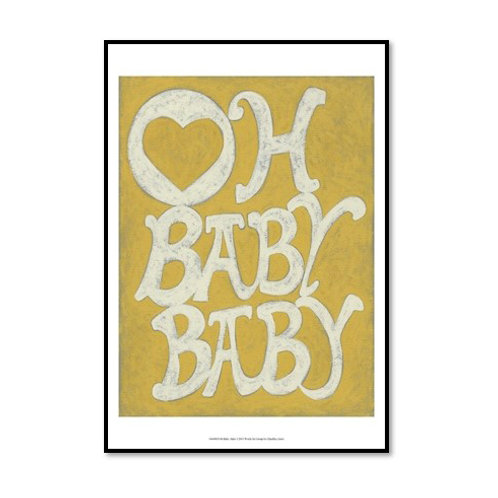 Oh Baby, Baby - Framed & Mounted Art