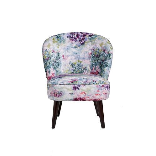 Ascot Chair – Fiore Slate / Amethyst