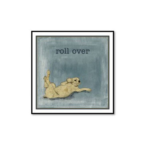 Roll Over - Framed & Mounted Art