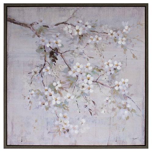 Blush Blossom - Canvas Art in Frame