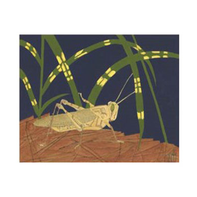 Ornamental Grasshopper I - Canvas Art