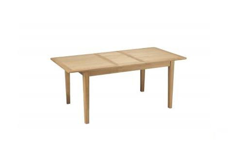 Osby Oak - Extended Dining Table ( 140 - 180 cm )