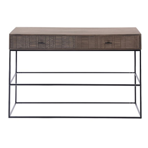 Africa 2 Drawer Console Table