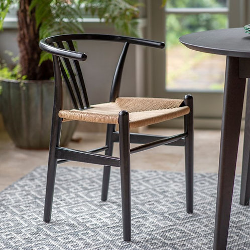 Black Botany Dining Chair - Pack of 2