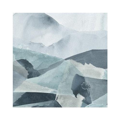Blue Range IV - Canvas Art