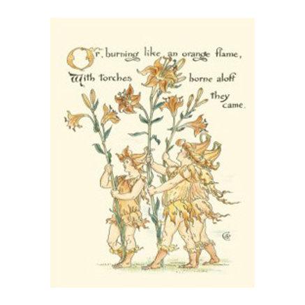 Shakespeare's Garden VIII (Lily) - Canvas Art