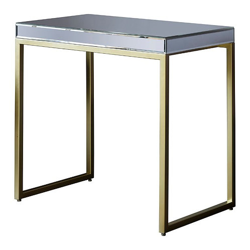 Champagne Pipson Side Table